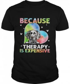 because therapy is expensive heart  Classic Men's T-shirt