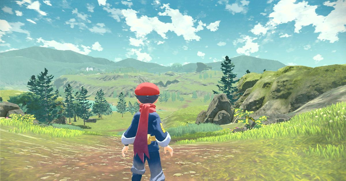 Pokémon Legends Arceus is an open-world RPG coming to the Switch