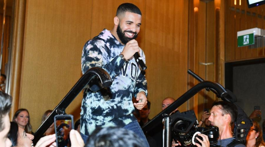 """Drake Raps About His Son Adonis On """"Lemon Pepper Freestyle"""" With Rick Ross"""