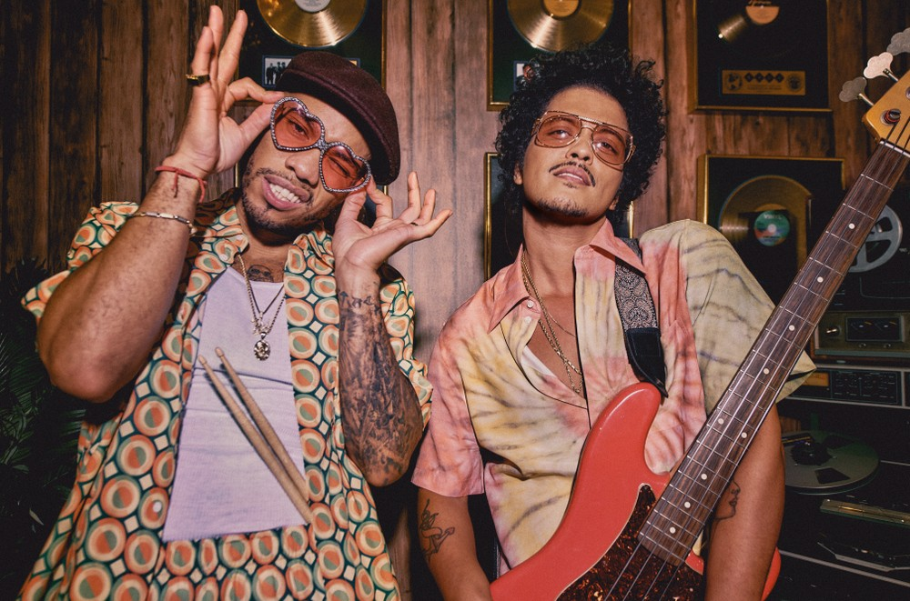 It's Silk Sonic, the new project from Grammy Award winners Bruno Mars and Anderson .Paak.